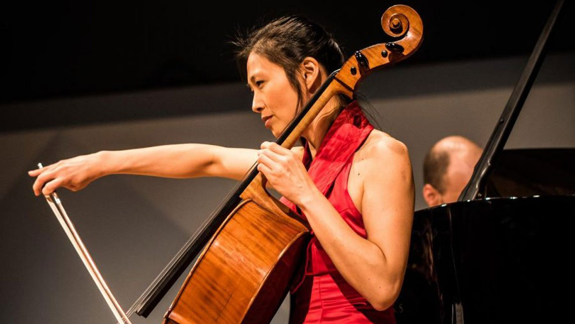 Cellist Sophie Shao