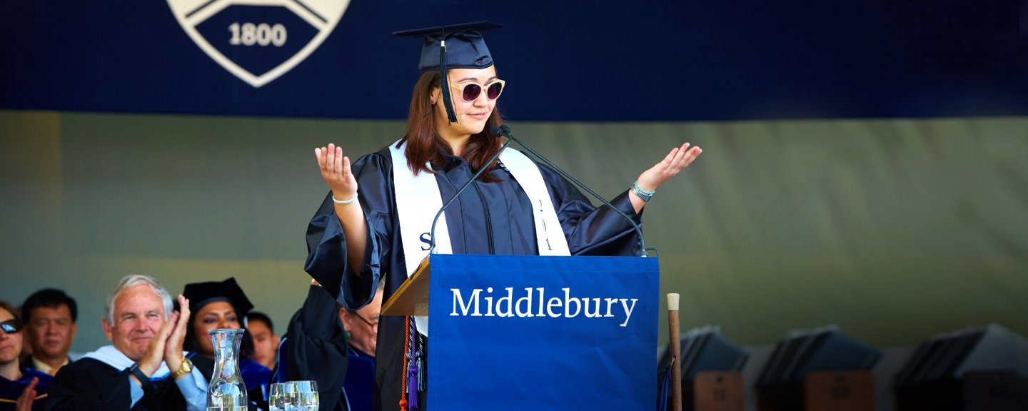 Commencement Middlebury College