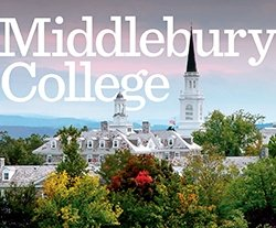 Cover to Middlebury College Viewbook
