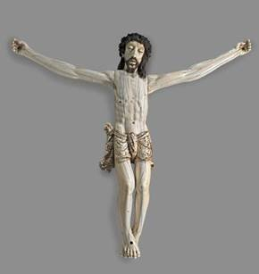 Image of the statue Crucified Christ Southeast Asian, c. 1600–1650