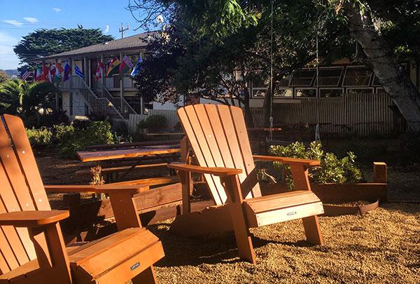 Attirant Student Run Community Garden In Fall Bloom | Middlebury Institute Of  International Studies At Monterey