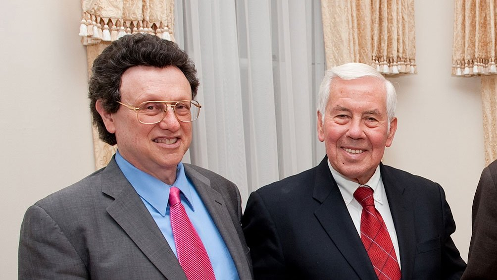 William Potter and Richard Lugar