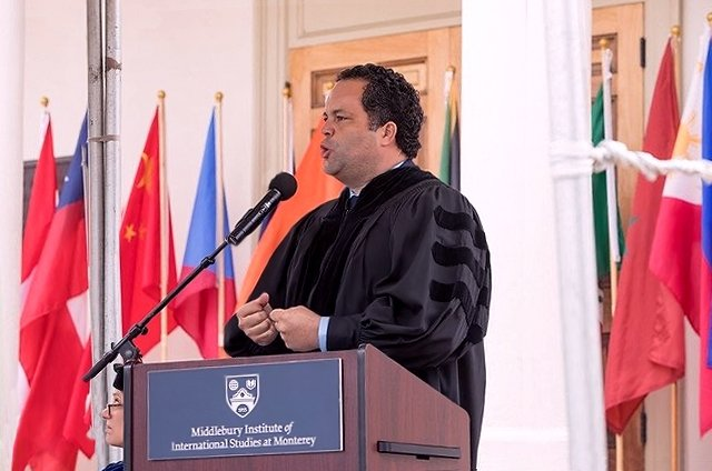 Ben Jealous at Spring Commencement 2019