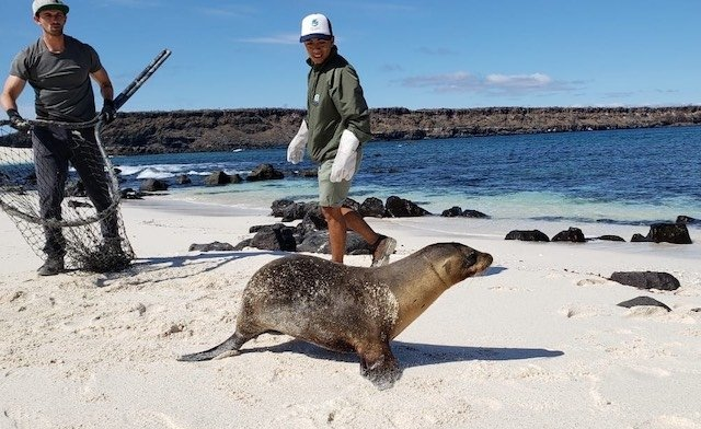 Andres Schrier in Galapagos