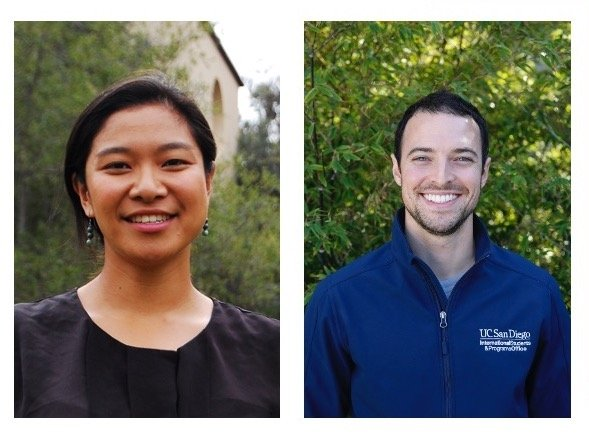 Yuki Ueda MAIEM '17 and David Saide MAIEM '15
