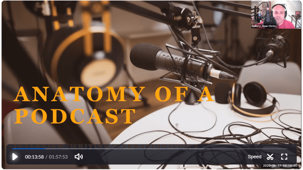 Anatomy of a Podcast MSSR