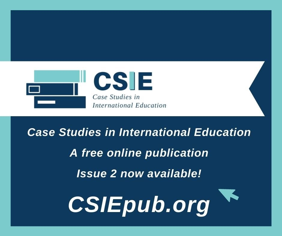 Promotion for 2nd Issue of Case Studies in International Education