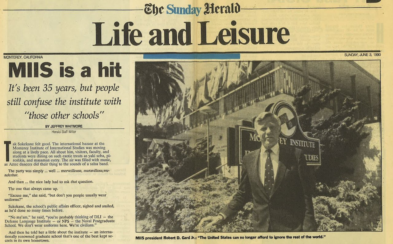 The Monterey Herald June 3, 1990