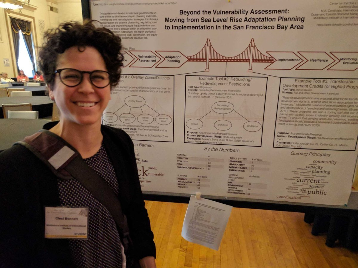 Clesi Bennett (MAIEP OCRM '2017) Poster Session Cal Coastal Commission