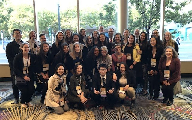 IEM students and alumni at NAFSA