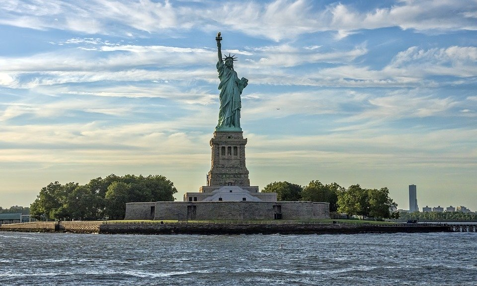The Statue of Liberty in New York, U.S.A.