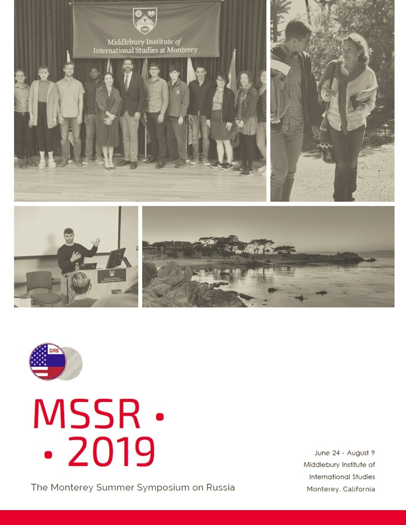MSSR 2019 Cover