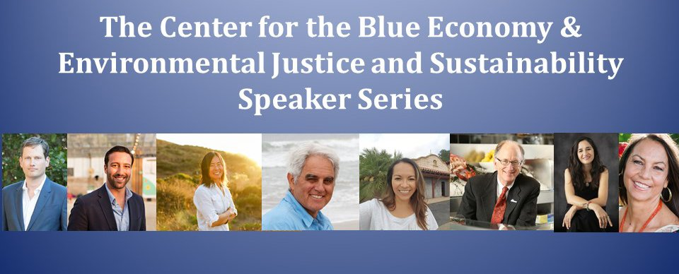 A series of headshots of the speakers in the CBE and Environmental Justice and Sustainability Speaker Series, fall 2020