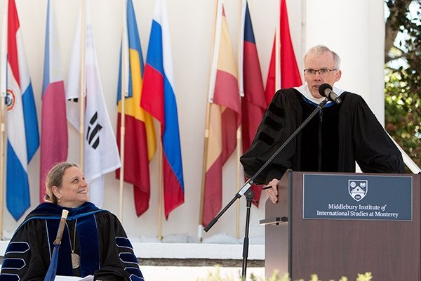 2017 Spring Commencement Laurie Patton and Bill McKibben