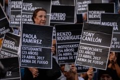 Venezuelans share names of people who lost lives in protests