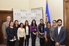 Students visit OAS in DC 2018