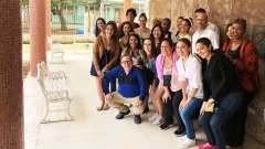 Students on Cuba trip