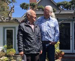 John Balcom and Wu Sheng in Monterey