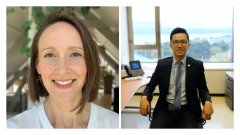 MIIS alumni Hilary Ancel-James and Lawrence ChenTwo Middlebury Institute alumni, Hilary Ancel-James MAT '03 and Kunyuan (Lawrence) Chen MACI '17, won first prize in the prestigious UN Translation Competition in the general category for their French and Chinese translations.