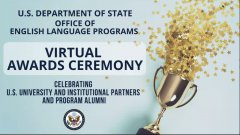 US State Dept Virtual Award Ceremony sign