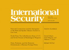 International Security Journal cover