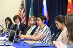 MIIS students at International Strategic Crisis Negotiation Exercise