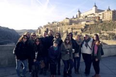 Students at Toledo Spain