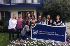 Monterey High School Students Visit MIIS