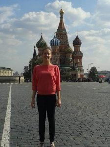 Lacie Neill in Red Square