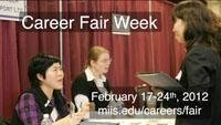 Digital Sign - Career Fair Week