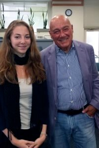 Julia Diamond and Vladimir Pozner