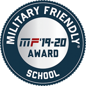 Military Friendly School award logo for 2019 - 2020