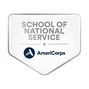AmeriCorps' School of National Service badge