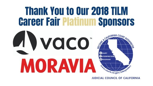 2018 TILM Career Fair Sponsors