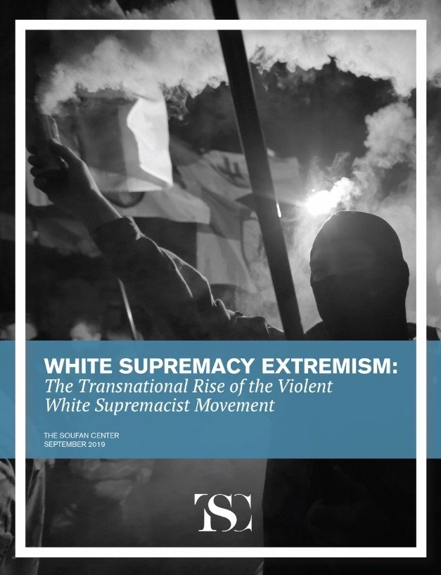 White Supremacy Extremism report cover