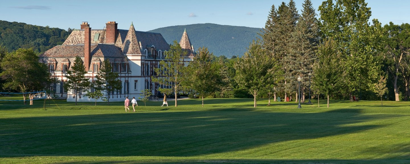 Le Chateau on Middlebury's campus