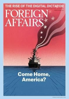 Cover of most recent issue of Foreign Affairs