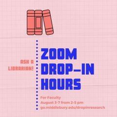 Zoom Drop-In Hours for Faculty