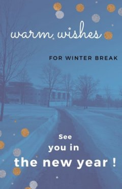 warm wishes for winter break
