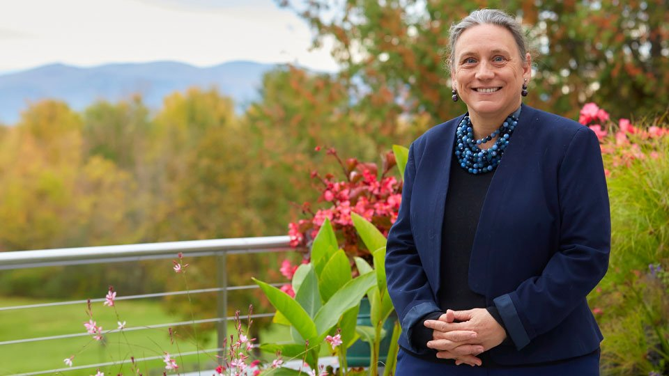 Middlebury College President Laurie Patton
