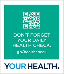 Don't Forget Your Daily Health Check