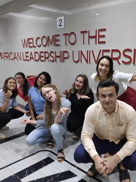 Social Entrepreneurship fellows at the African Leadership University