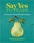 Book jacket for Say Yes to Pears published by Brent Peters