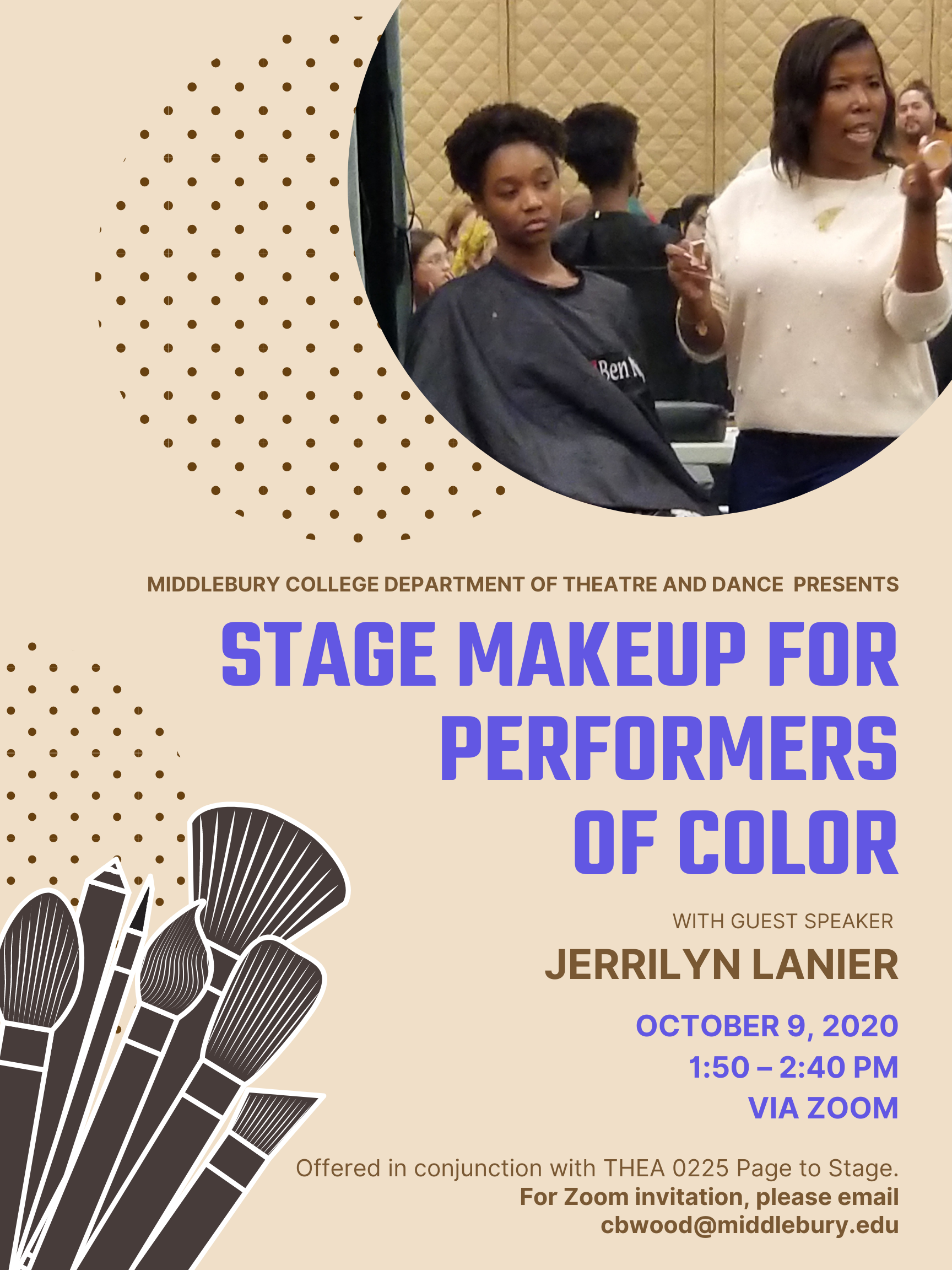 Stage Makeup for Performers of Color Poster