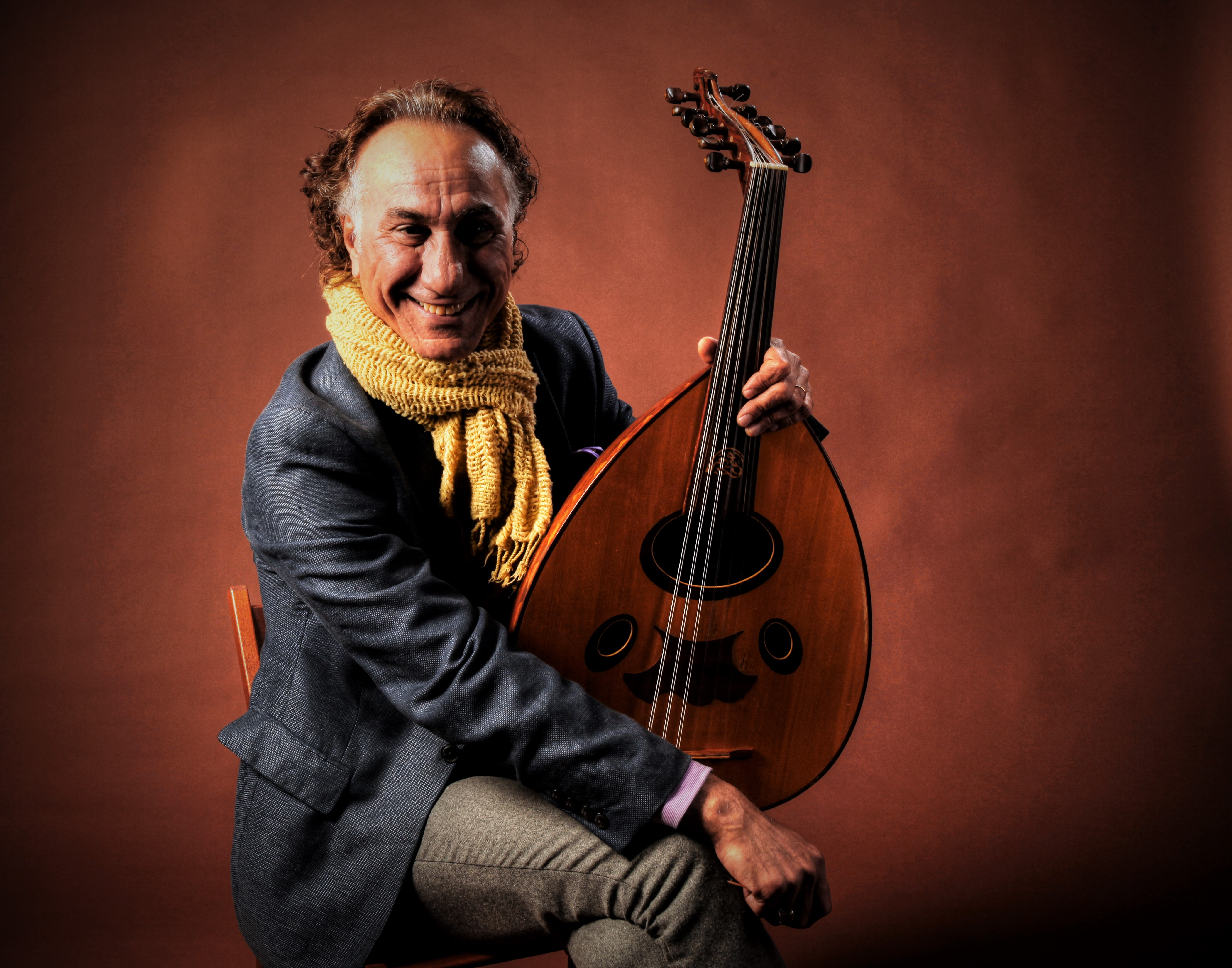 Rahim AlHaj Trio Steps in for a Concert of Middle Eastern Music on