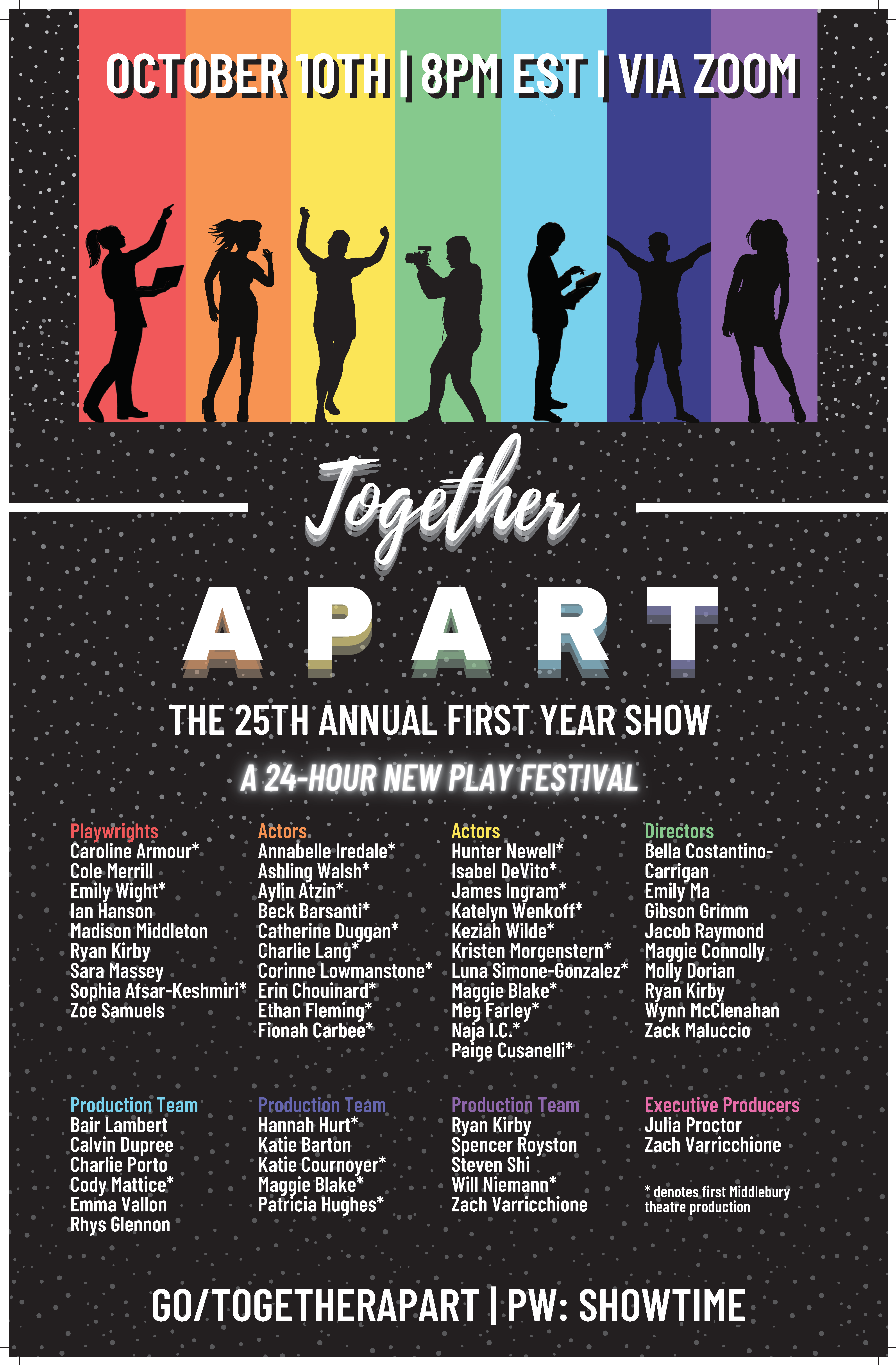 First Year Show Poster